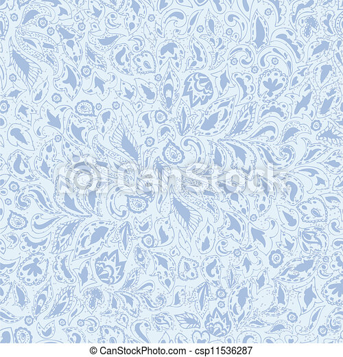 doodle pattern seamless - csp11536287