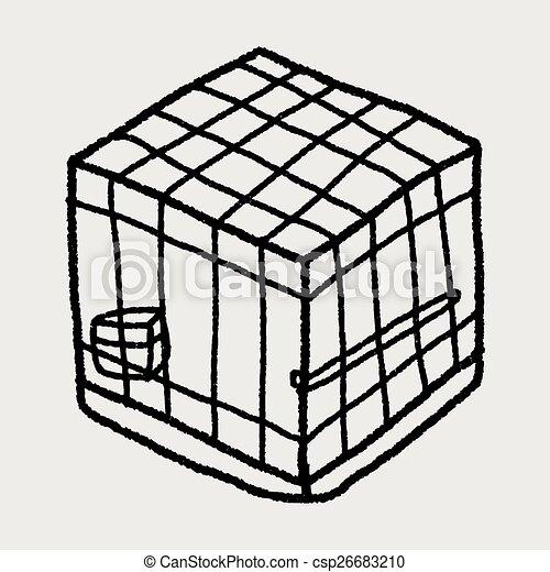 Doodle Pet Cage