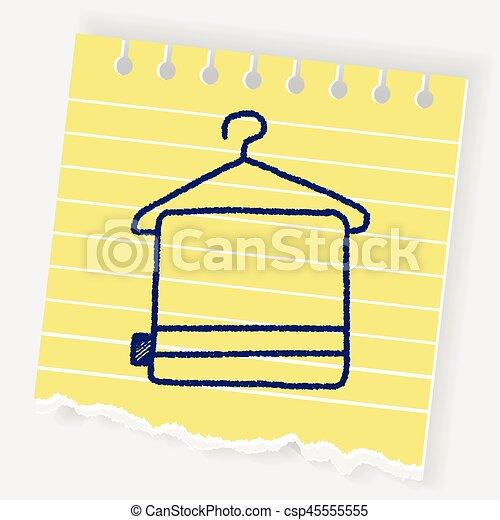 doodle towel - csp45555555