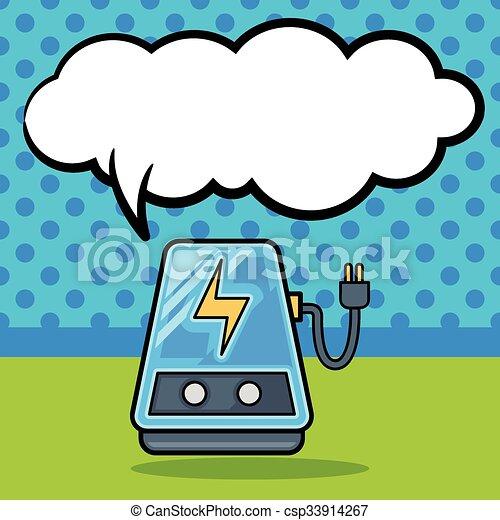 doodle, transformador, poder - csp33914267