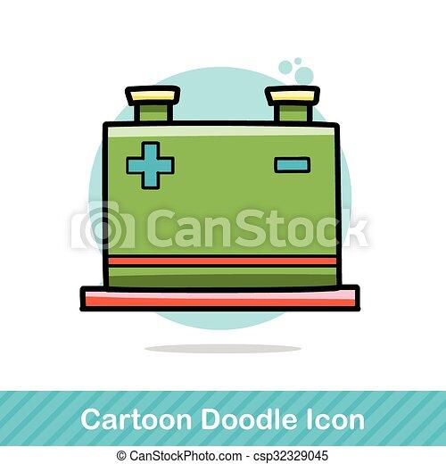 doodle, transformador, poder - csp32329045