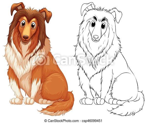 Doodles Drafting Animal For Big Dog