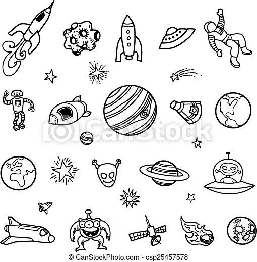 Caniches del espacio exterior - csp25457578