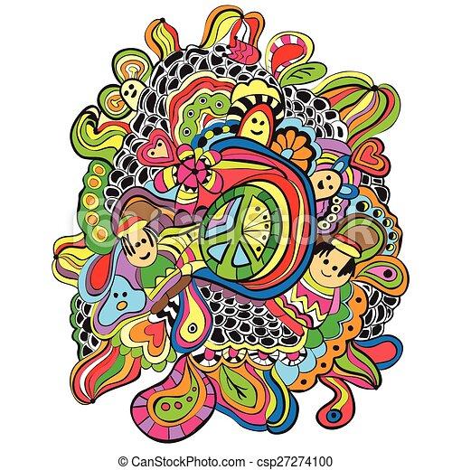 Doodles - Vector Illustration - csp27274100