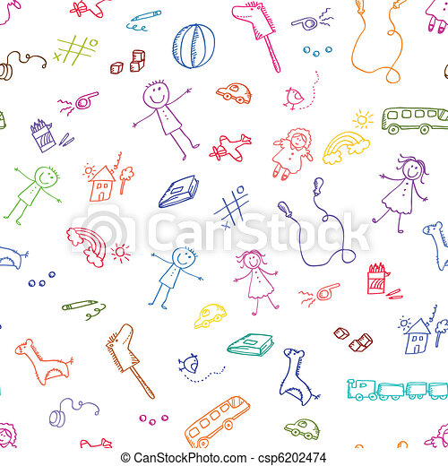 dooodle toy pattern - csp6202474
