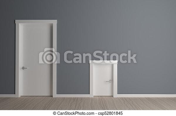 Charmant Door Big And Small   Csp52801845