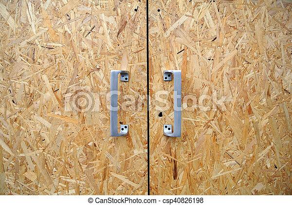 door chipboard