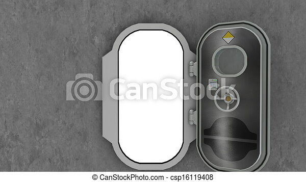 door - csp16119408 & Image of ship door stock illustration - Search Clipart Drawings and ...