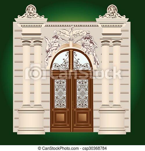 Door  - csp30368784