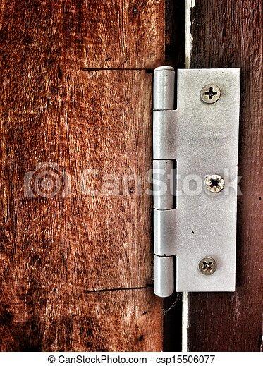 Door hinges. - csp15506077