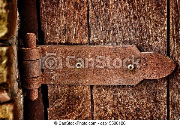Door hinges. - csp15506126