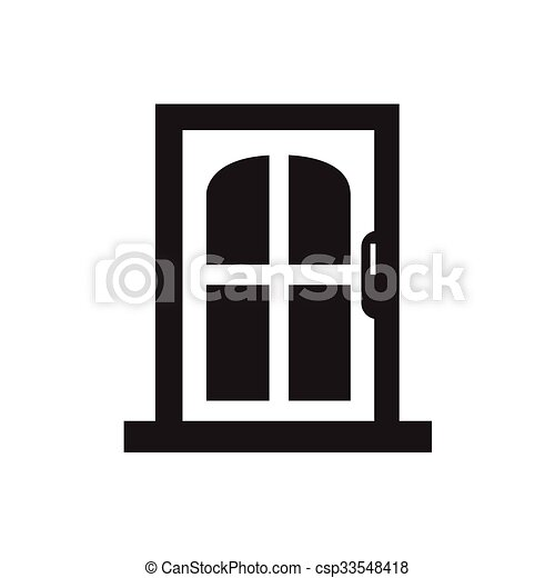 Door icon  sc 1 st  Stock Photography Images Royalty Free at Can Stock Photo & Door icon.