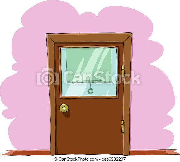 Door - csp6332207