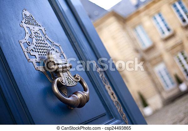 Door knocker - csp24493865