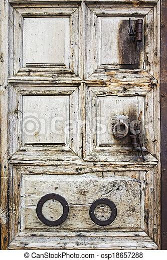 Door On Jerusalem Church - csp18657288