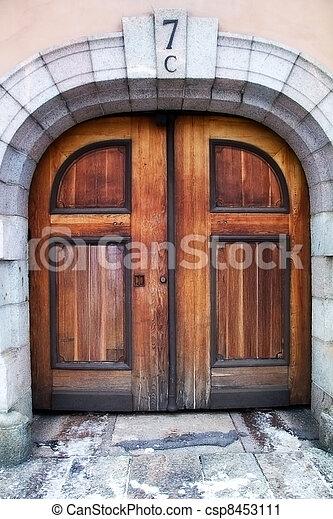 Door - csp8453111
