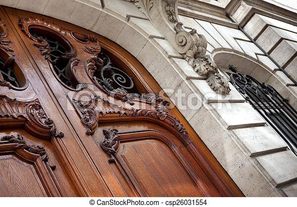 Door - csp26031554