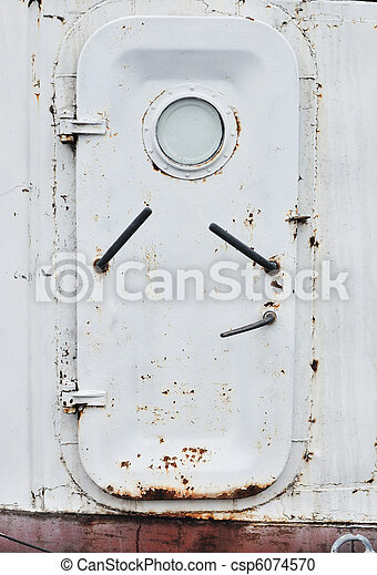 door - csp6074570  sc 1 st  Can Stock Photo & An old rusty door on the ship stock photography - Search Pictures ...