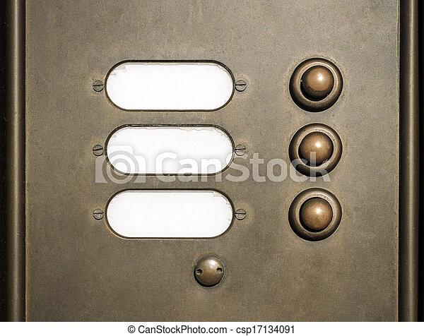 doorbell - csp17134091