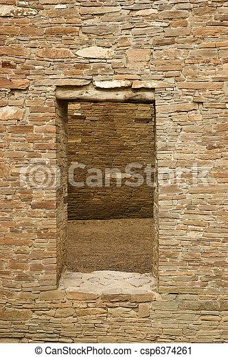 Doorway, Chaco Canyon - csp6374261