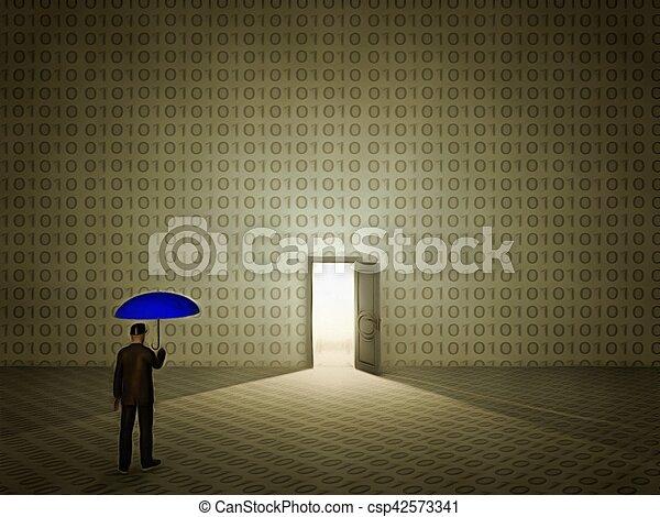 Doorway to heaven - csp42573341
