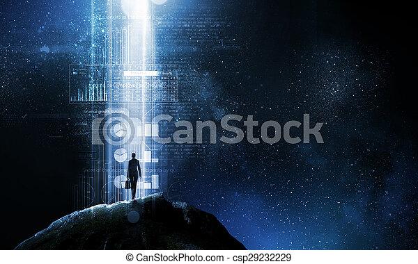 Doorway to new opportunities - csp29232229
