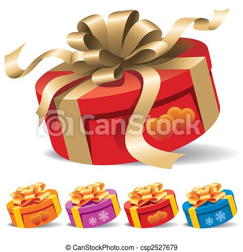 doosje, cadeau - csp2527679