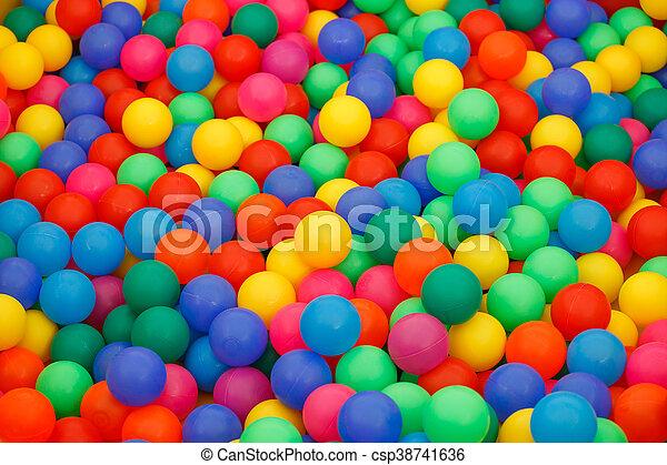 doosje, kleine, gelul, gekleurde, gevulde - csp38741636