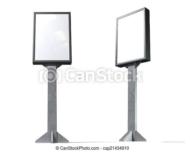 doosje, licht, verticaal - csp21434910