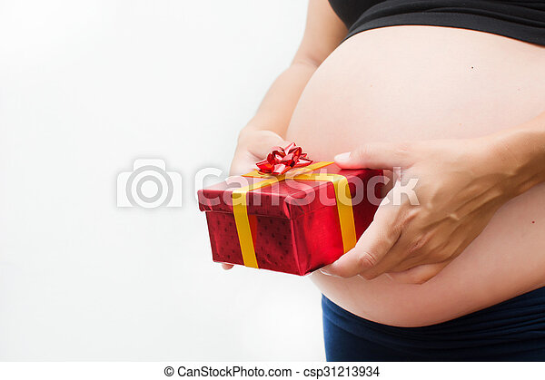 Doosje Vrouw Cadeau Zwangere