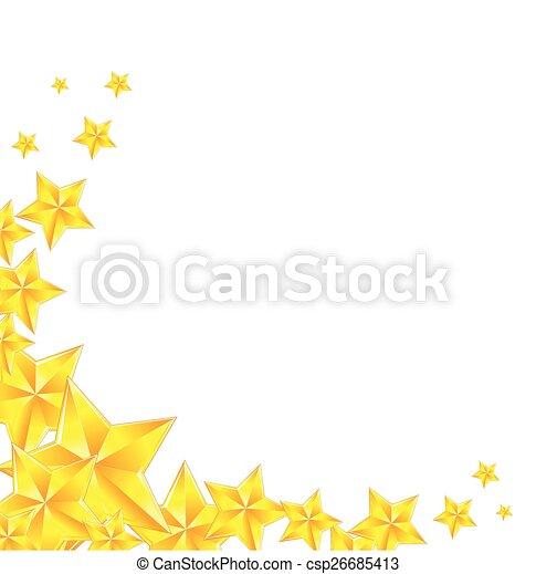 doré, étoile - csp26685413