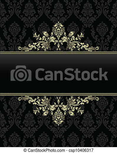 dor cadre baroque ba seamless dor cadre seamless fond baroque. Black Bedroom Furniture Sets. Home Design Ideas
