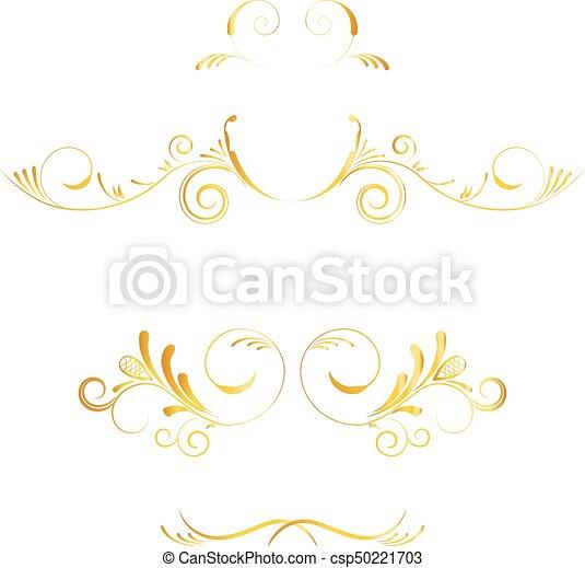 Dore Ensemble Meres Carte Anniversaire Decoration Arriere Plan Jour Vecteur Mariage Invitations Page Blanc Canstock
