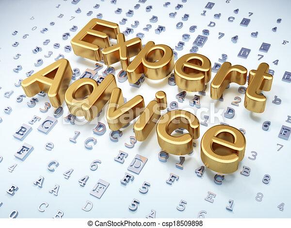 doré, expert, conseil, fond, numérique, droit & loi, concept: - csp18509898