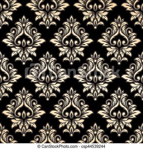 dor papier peint luxe damass dor wallpaper vecteur eps rechercher des clip art. Black Bedroom Furniture Sets. Home Design Ideas