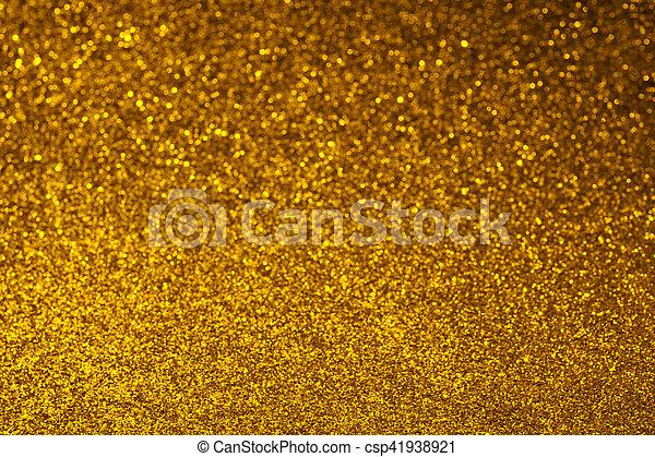 Fond Doré doré, résumé, scintillement, fond. doré, résumé, texture, arrière