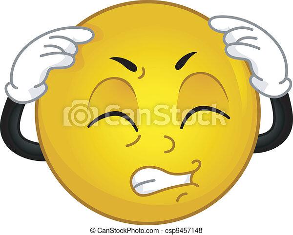 dor de cabeça - csp9457148