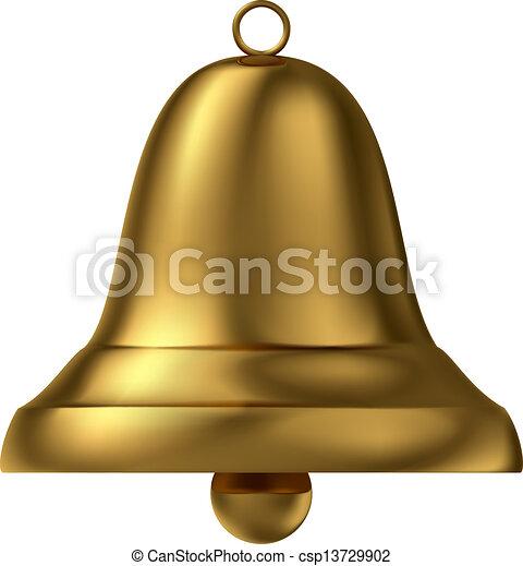 Campana dorada - csp13729902