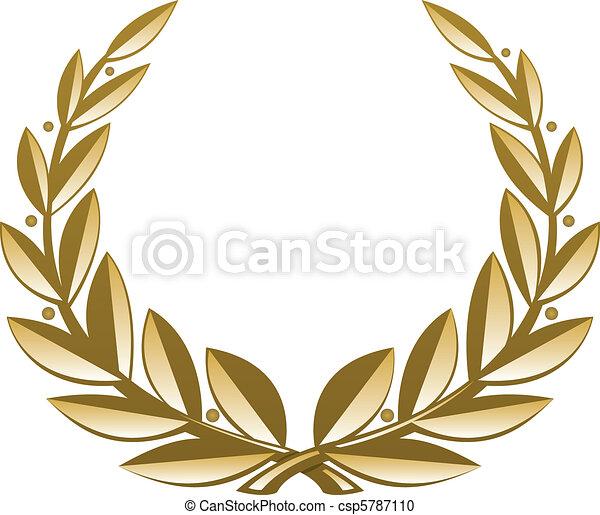 Una corona de oro - csp5787110
