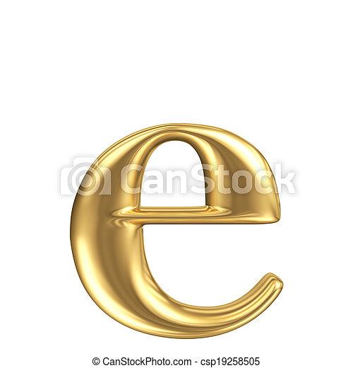 Carta de matt dorada y colección de joyas - csp19258505