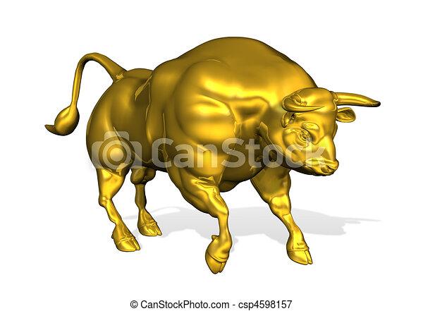 Golden Bull 3d
