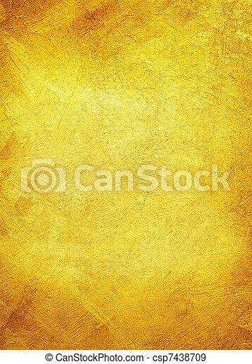 dorato, lusso, texture. - csp7438709
