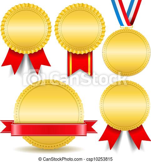 dorato, medaglie - csp10253815