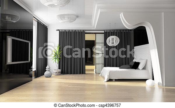 Dormitorio - csp4396757