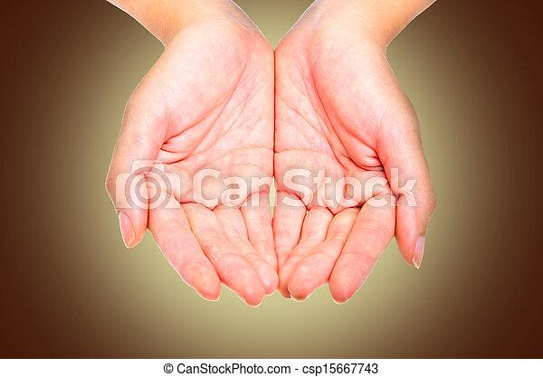 Dos manos - csp15667743