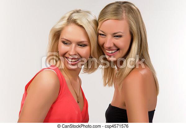 dos mujeres - csp4571576