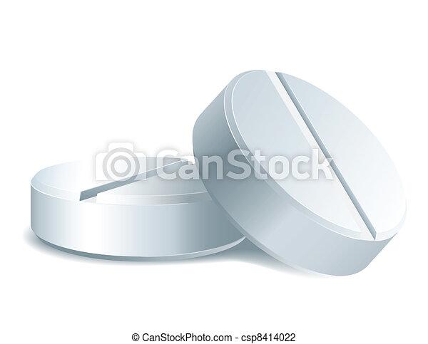 Dos pastillas - csp8414022