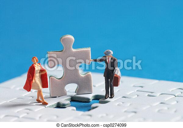Dos personas - csp0274099