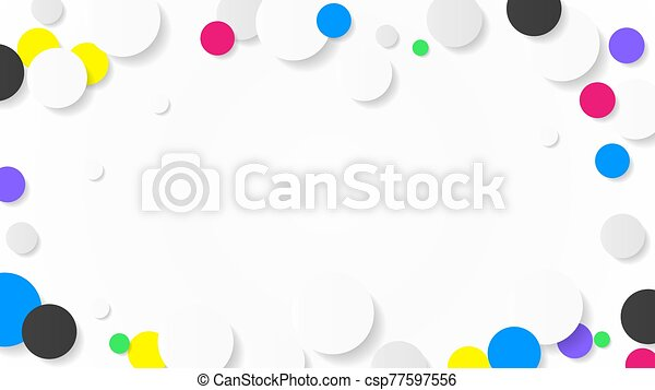 Confetti celebration frame background.   Frame background, Colorful  backgrounds, Watercolor paper texture