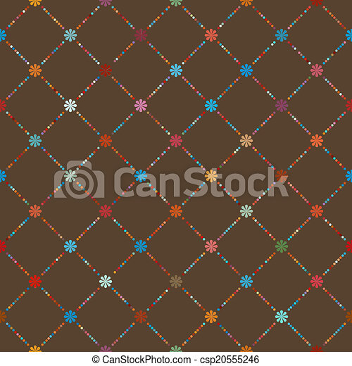 Dot template of vintage background. EPS 8 - csp20555246